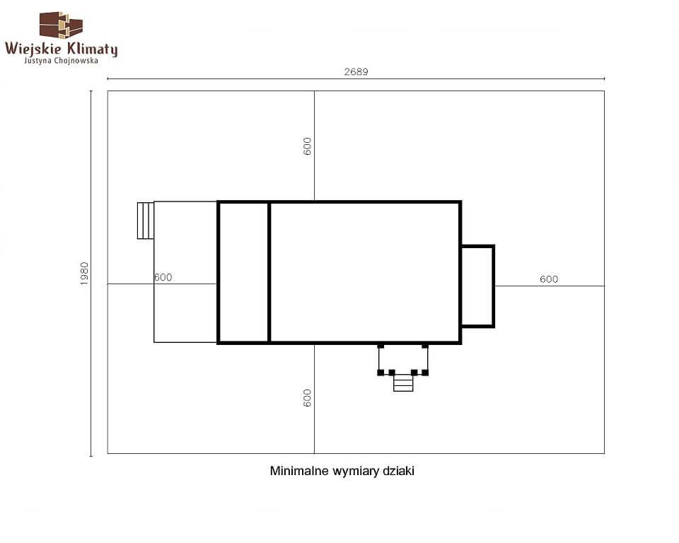projekt domu drewnianego mazurskiego maranka 4,8
