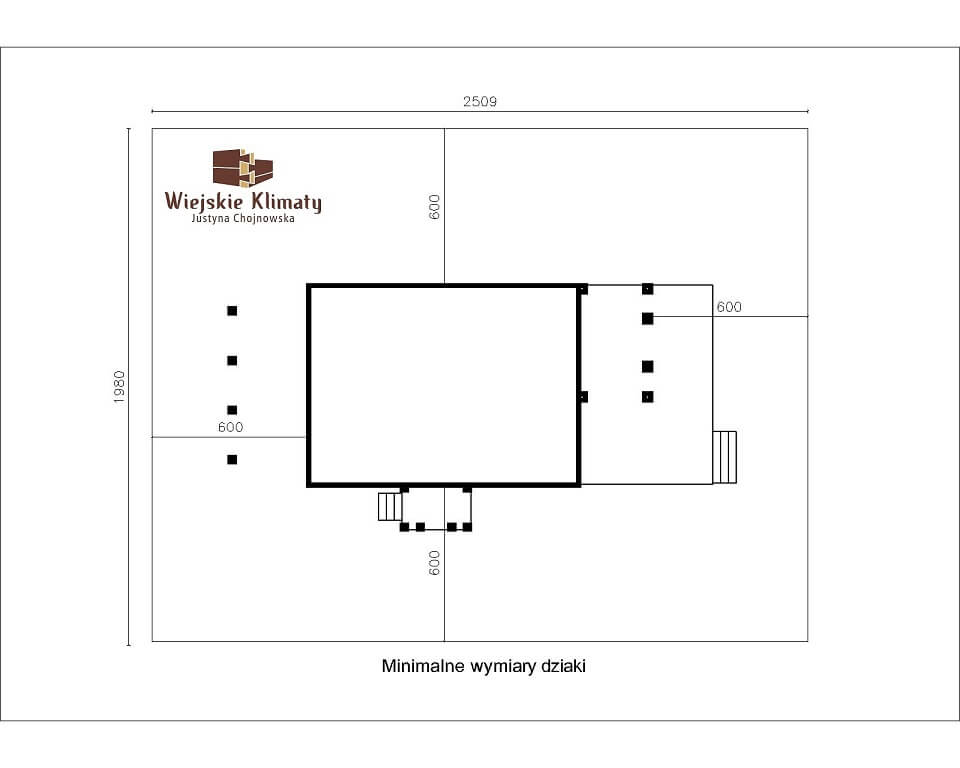 projekt domu z bala maranka 2,9