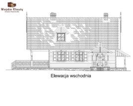 projekt domu z bala maranka 3,3