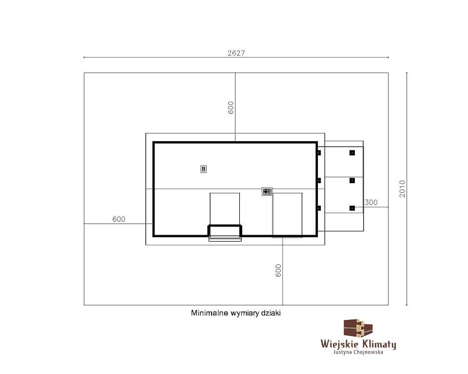 projekt drewnianego domu podlaskiego doświatek 1,7